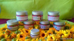 crèmes et baumes bio naturel calendula